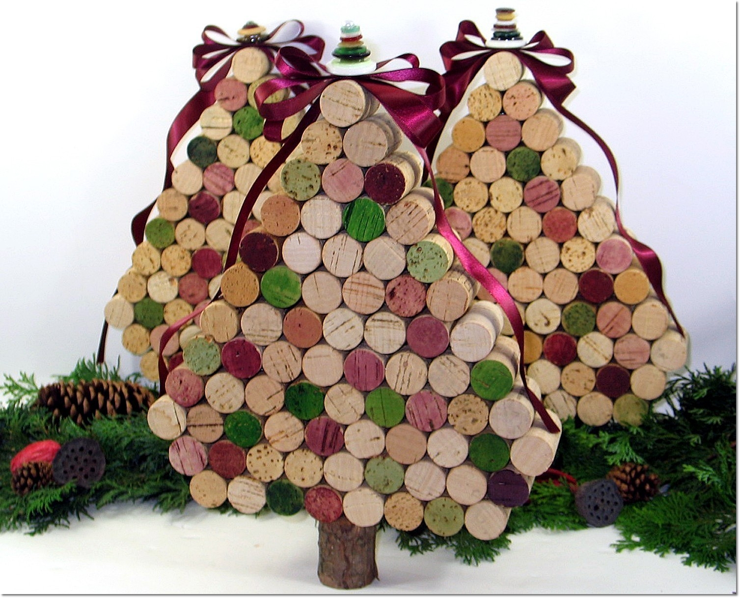 November 2011 my house and home for Crafts with wine bottle corks